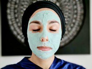 masque spiruline laminaire face